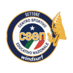 CSEN logo - National Educational Sports Center windsurfing sector - Windsurf School Tornado
